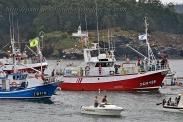 Procesión marítima en honor a la virgen del mar - Cedeira, 16-08-2013 - Fotografía por fermín Goiriz Díaz (32)