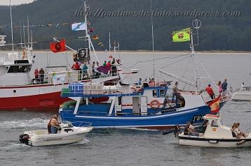 Procesión marítima en honor a la virgen del mar - Cedeira, 16-08-2013 - Fotografía por fermín Goiriz Díaz (33)