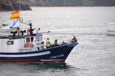 Procesión marítima en honor a la virgen del mar - Cedeira, 16-08-2013 - Fotografía por fermín Goiriz Díaz (46)