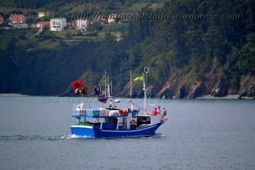 Procesión marítima en honor a la virgen del mar - Cedeira, 16-08-2013 - Fotografía por fermín Goiriz Díaz (5)