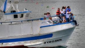 Procesión marítima en honor a la virgen del mar - Cedeira, 16-08-2013 - Fotografía por fermín Goiriz Díaz (53)