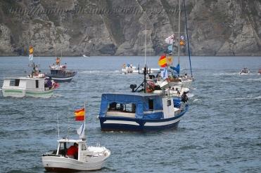 Procesión marítima en honor a la virgen del mar - Cedeira, 16-08-2013 - Fotografía por fermín Goiriz Díaz (59)
