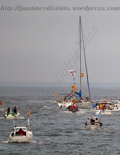 Procesión marítima en honor a la virgen del mar - Cedeira, 16-08-2013 - Fotografía por fermín Goiriz Díaz (64)