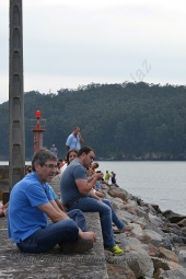 Procesión marítima en honor a la virgen del mar - Cedeira, 16-08-2013 - Fotografía por fermín Goiriz Díaz (70)