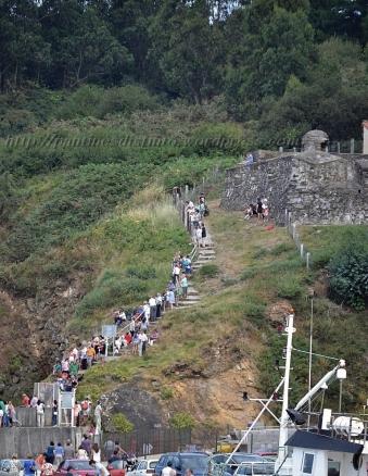 Procesión marítima en honor a la virgen del mar - Cedeira, 16-08-2013 - Fotografía por fermín Goiriz Díaz (71)