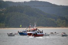Procesión marítima en honor a la virgen del mar - Cedeira, 16-08-2013 - Fotografía por fermín Goiriz Díaz (82)