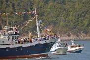 Procesión marítima en honor a la virgen del mar - Cedeira, 16-08-2013 - Fotografía por fermín Goiriz Díaz (84)