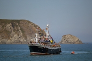 Procesión marítima en honor a la virgen del mar - Cedeira, 16-08-2013 - Fotografía por fermín Goiriz Díaz (90)