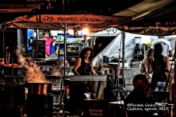 A pulpeira - por Fermin Goiriz Diaz - Cedeira agosto 2013