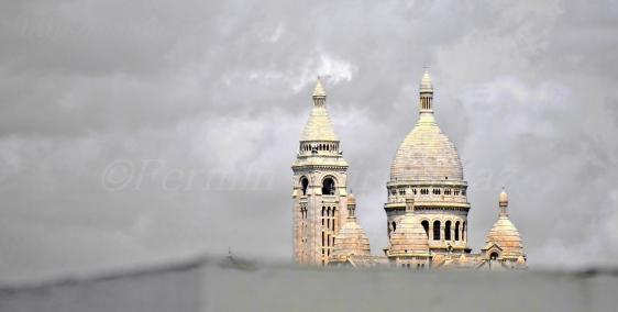 Basílica del Sagrado Corazón de Montmartre - Fotografía por Fermin Goiriz Díaz - Paris, Julio 2013