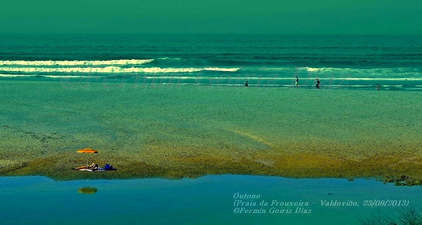 Outono - Otoño - Praia da Frouxeira - Playa de A Frouxeira (Valdoviño - Galicia) - foto por Fermin Goiriz Diaz, 23-09-2013