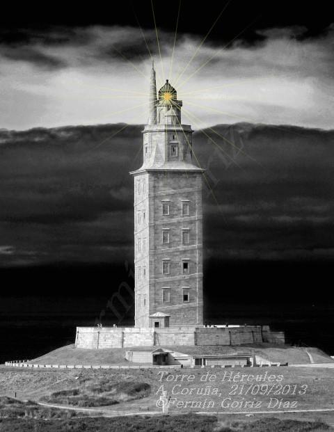 Torre de Hércules - A Coruña - Forografia por Fermin Goiriz Diaz, 20-09-2013