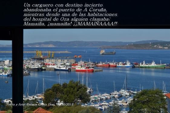 Mamaiña - fotografía y poema de Fermín Goiriz Díaz, 06-10-2013