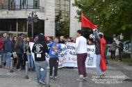 Manifestación de obreiros e estudantes en Ferrol, 20-11-2013
