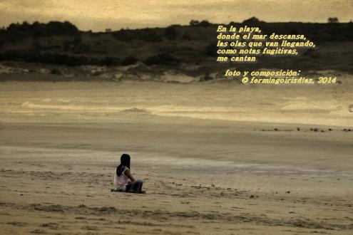 Donde el mar descansa... fotografía por fermín goiriz díaz, 2014
