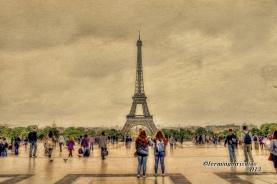 La torre Eiffel - fotografía por fermín goiriz díaz, 2013