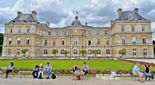 Senado de Francia - Sénat français- Jardín de Luxemburgo-Jardin du Luxembourg (Paris), junio 2013